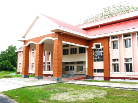 The New Building of Kendriya Vidyalaya Central University, Tezpur in its finishing stages...
