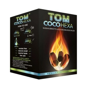 Tom Coco Hexa Coal 1KG