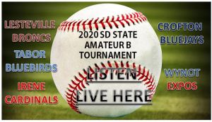 SD STATE AMATEUR BASEBALL TOURNAMENT