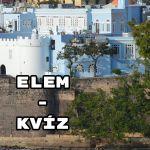 ELEM-kvíz - Türelem, történelem, és még sok elem: Jöhet?