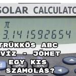 Trükkös ABC kvíz - jöhet egy kis számolás?