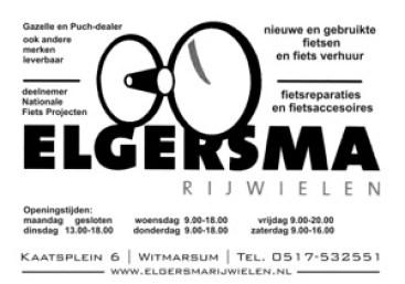 Advertenties Sjouke Elgersma 2014