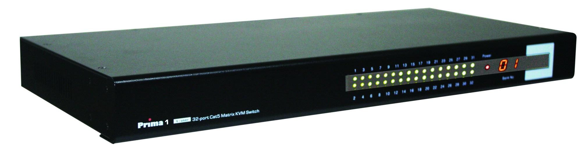 hight resolution of uniclass pmc 0132 32 port cat 5 kvm switch w osd