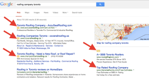 search engine results ads