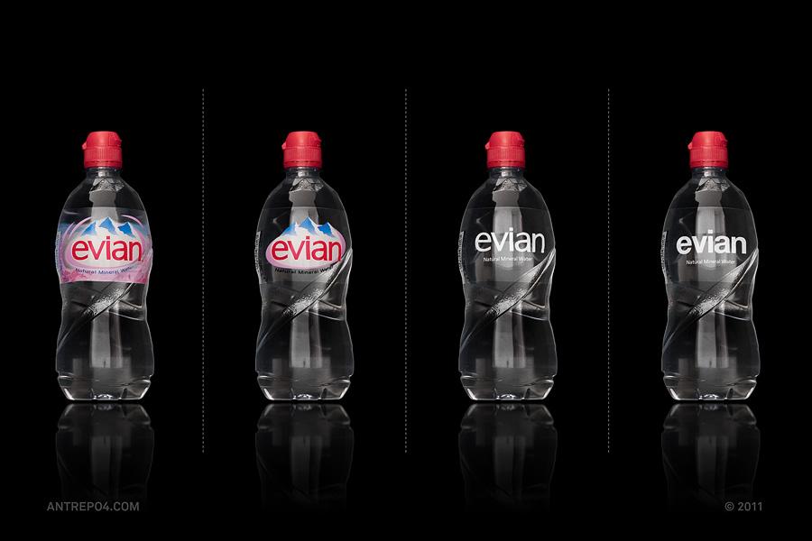 evian-minimalist-branding