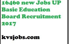 UP Basic Education Board Recruitment 2017