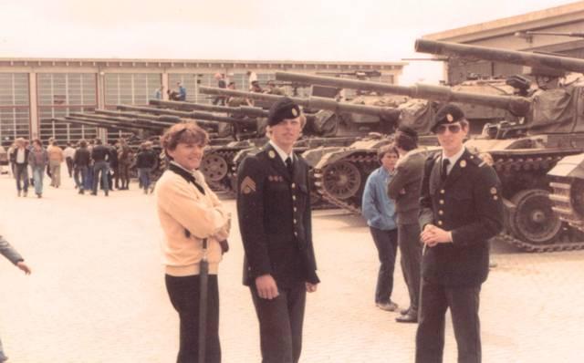 Antvorskov Kaserne 1981 med Centurion