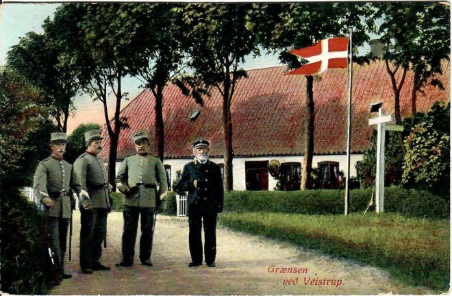 Grænsen postkort 1911, Veistrup