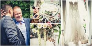 Hochzeitsfotografie Erfurt vintage Reportage Vorbereitung Bestman Hochzeitsringe
