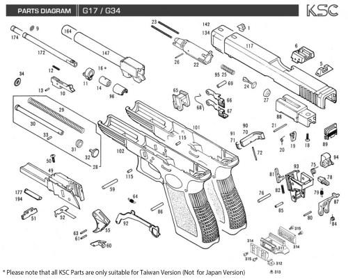 small resolution of glock 17 parts diagram hhpurebuildco