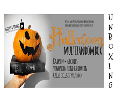 Unboxing Letters and Lights   Halloween Box