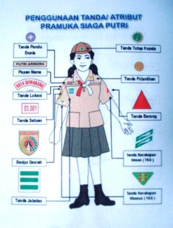 Atribut Seragam Pramuka : atribut, seragam, pramuka, Penggunaan, Atribut, Pakaian, Seragam, KWARRAN, CEPIRING