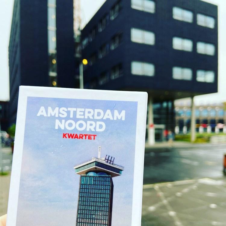 De tweede versie van het Amsterdam Noord Kwartet, gemaakt in opdracht van de gemeente Amsterdam.