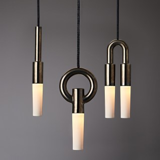 ION-CLUSTER Luxe On Pendant with Shade