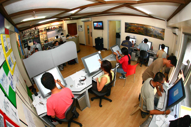 cutting edge animation studio in makati