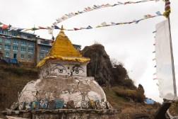 Stupa w Namche Bazar