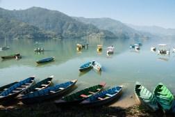 Jezioro Phewa w miejscowości Pokhara