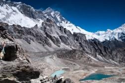 Panorama z przełęczy Kongma La