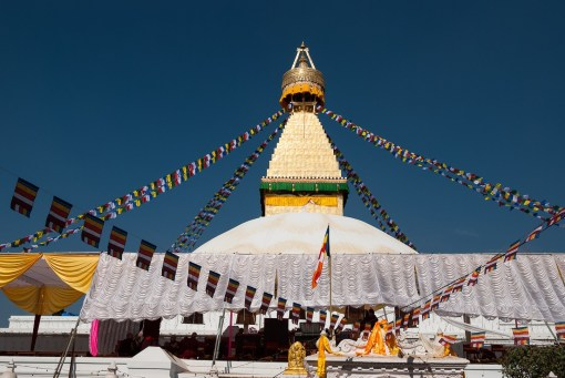 Buddanath Stupa, największa stupa w Kathmandu