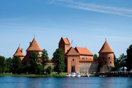 Zamek na wyspie w Trokach