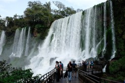 Kolejny wodospad po stronie argentyńskiej
