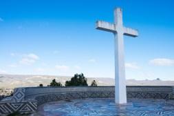 Biały krzyż stoi nad Junín de los Andes od 60 lat. Wokół niego powstała Via Christi