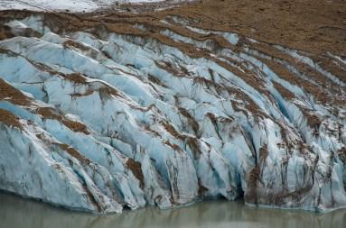 Ten sam lodowiec - jesteśmy nad jeziorem Torre