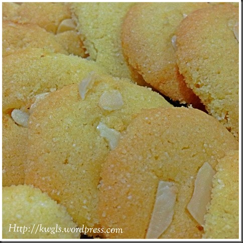 Another Short Bread Biscuits For This Chinese New Year -  Nan Khatai or Indian Short Bread Cookies (杏仁酥油饼)