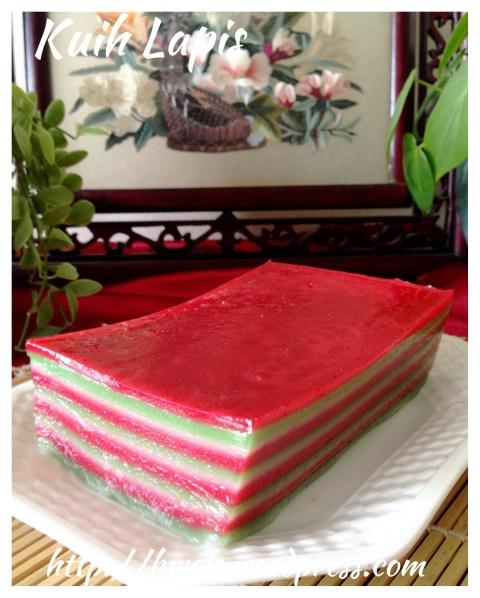 This Is Different From Kek Lapis, This is Kueh Lapis–Nonya Kueh Lapis