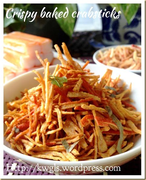 Crispy Crabstick Snack (酥脆蟹肉小吃)