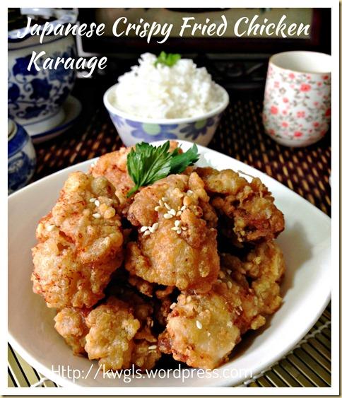 Japanese Crispy Fried Chicken (唐揚げ, 日式酥脆炸鸡块)