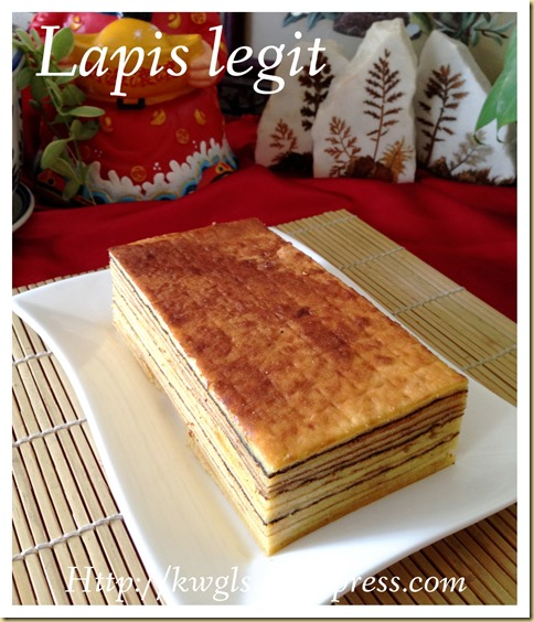 Authentic Lapis Legit (Spekkoek 印尼千层蛋糕)