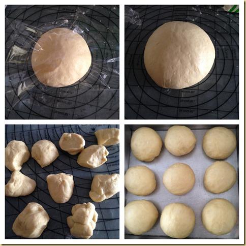 Potatoes Buns (马铃薯餐包)