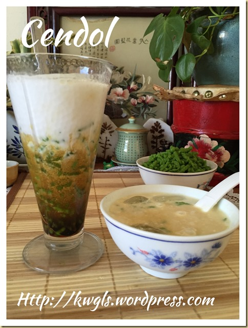 Let's Try To Have Homemade Cendol (珍多,煎律)