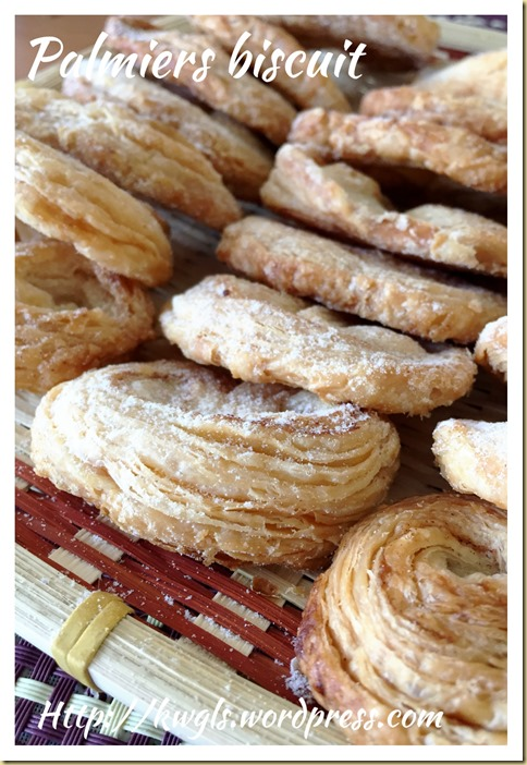 French Pastry–Palmiers (法国蝴蝶酥)