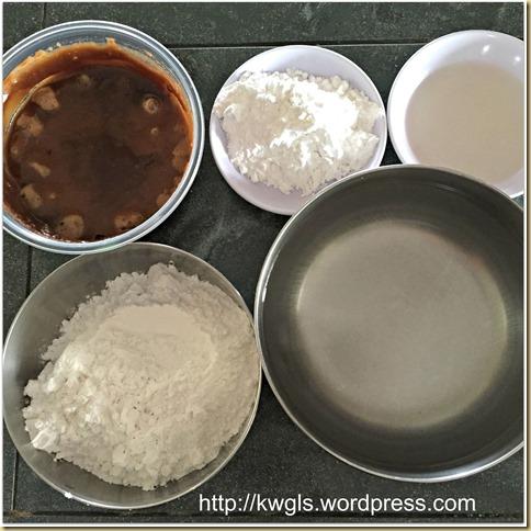 Hong Kong Red Bean Steamed Rice Cake aka Put chai ko (砵仔糕)