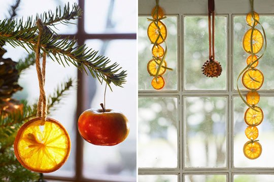 orange slice chair hanging buy natural holiday decorating - kw home