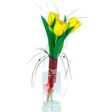 bukiet 3 tulipanów