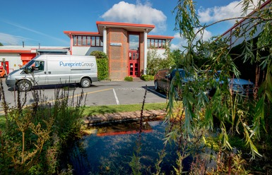 building-pond-and-van