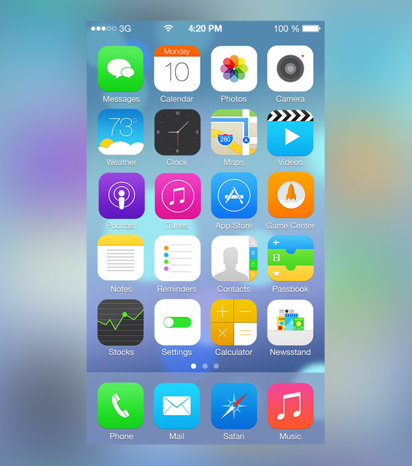 iOS V2 by Ross Legacy