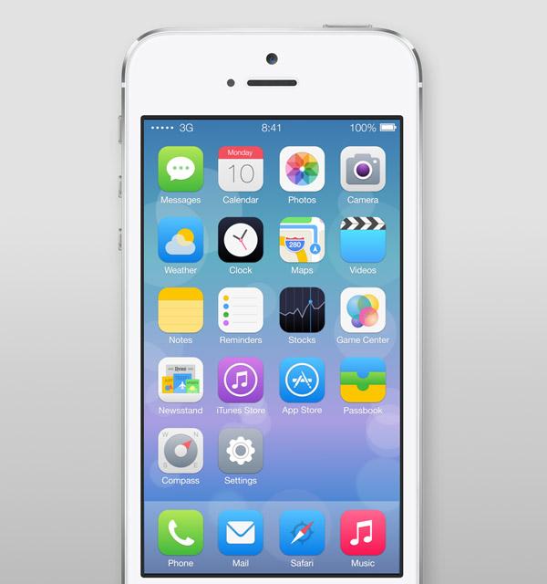 iOS Icons Redesign by Ida Swarczewskaja