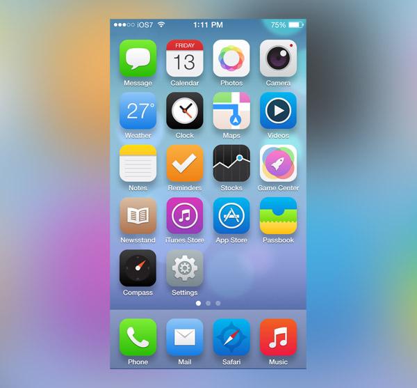iOS Redesign by Fareast Binsteera