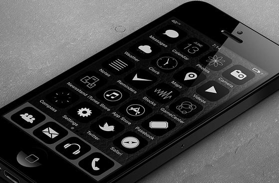iOS7 BKNY mod by Xander Vinogradov