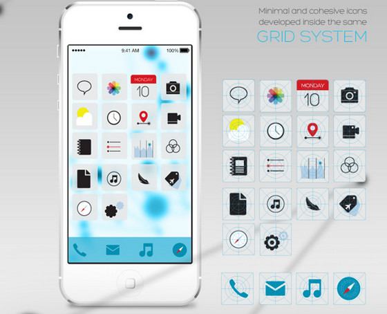 iOS-7 Redesign by Isis Marques