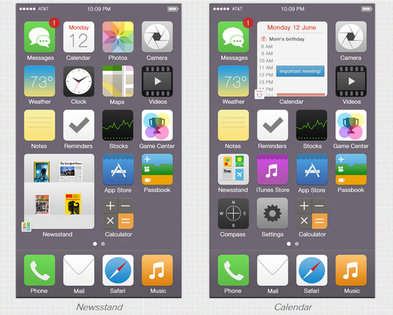 iOS Reimagined by Tristan Edwards
