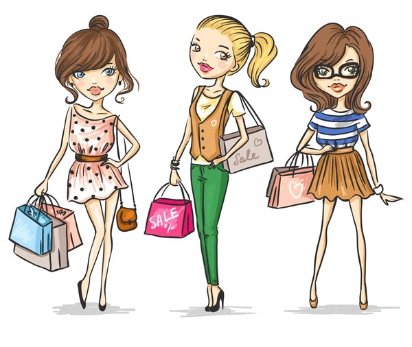 vector-fashion-girls