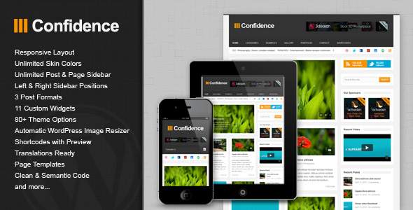 confidence 35 Impressive WordPress Themes of April 2012