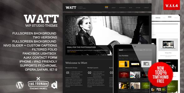 watt 35 Impressive WordPress Themes of April 2012