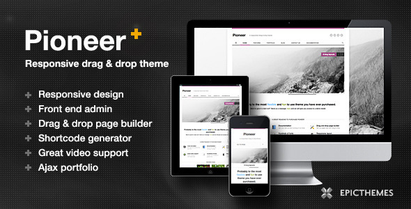 pioneer 35 Impressive WordPress Themes of April 2012