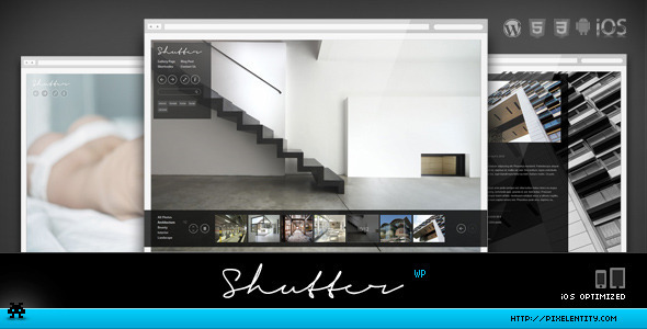 shutter 35 Impressive WordPress Themes of April 2012